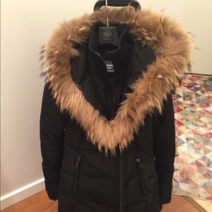 Mackage Kay long winter jacket (black xxs)